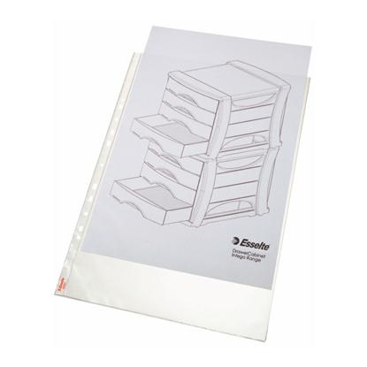 Picture of ESSELTE Kabata dokumentiem   A3 vertikāla, 75mic, matēta, 50 gab./iepak.