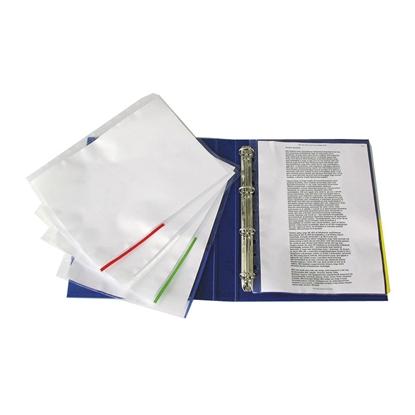 Picture of ESSELTE Kabata dokumentiem   A4 formāts, glancēta ar zaļu maliņu, 105 mkr, 100 gab./iepak.