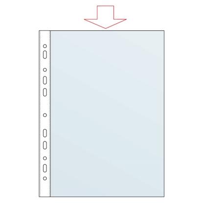 Изображение FORPUS Kabata dokumentiem   A4 matēta, 30mic, 100 gab./iepak.