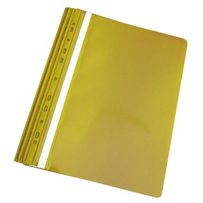 Attēls no PANTA PLAST Mape ātršuvējs iesienamais A4 formāts, dzeltena, 10 gab./iepak.
