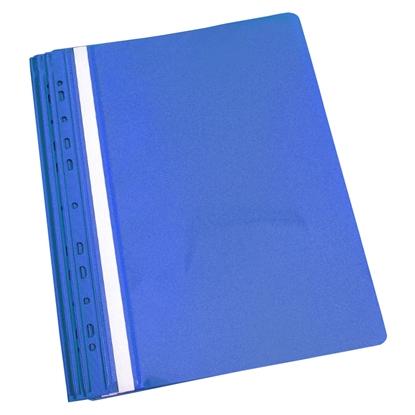 Attēls no PANTA PLAST Mape ātršuvējs iesienamais A4 formāts, zila, 10 gab./iepak.