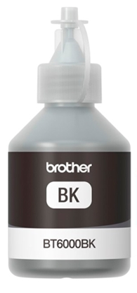 Attēls no BROTHER BT-6000BK Melnās krāsas tintes pudele, 6000 lapām ( DCP-T300/500W)