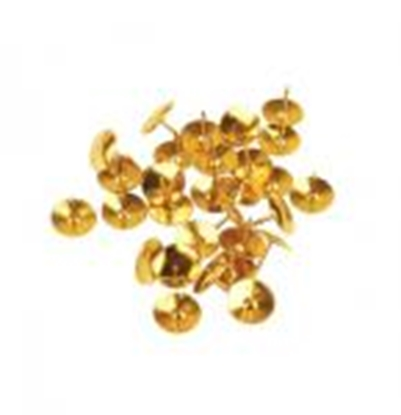 Изображение Piespraudes zelta krāsa 50 gab.