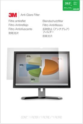 Изображение 3M AG240W1B Anti-Glare Filter f LCD Widescreen 24  16:10