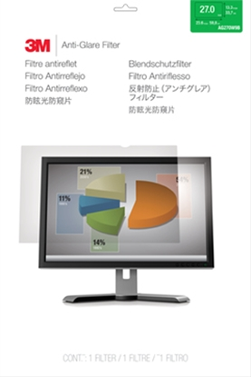 Attēls no 3M AG270W9B Anti-Glare Filter for LCD Widescreen Monitor 27