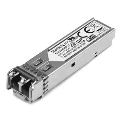 Picture of 1000BASE-SX SFP transceiver module, MMF, 850nm, DOM