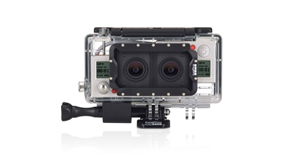 Picture of GoPro - Dual HERO System Housing AHD3D-301