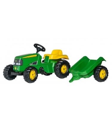 Изображение Bērnu traktors ar pedāļiem ar piekabi rollyKid John Deere (2,5-5 gadiem) 012190 Vācija