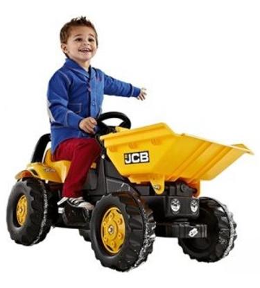 Изображение Bērnu traktors ar pedāļiem rollyKid Dumper JCB (2,5-5 gadiem) 024247 Vācija