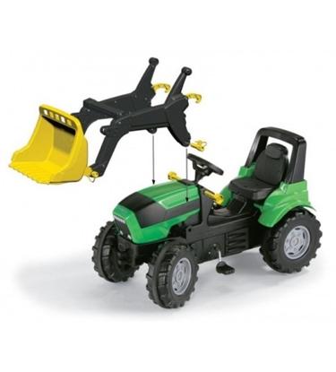 Attēls no Traktors ar pedāļiem rollyFarmtrac Deutz Agrotron 7250 TTV ar noņemāmo kausu 710034 ( 3 - 8 gadiem) Vācija