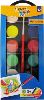 Picture of BIC Watercolor paints 12, 485440