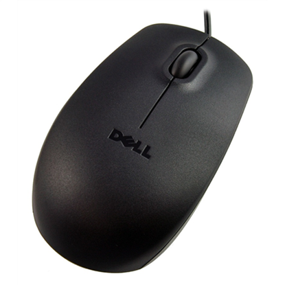 Изображение Dell Mouse MS116 Wired, No, Black, No, Optical
