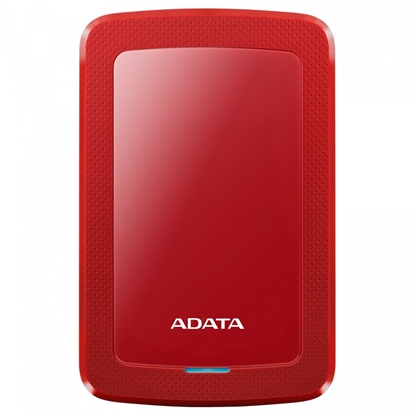"Picture of ADATA External Hard Drive HV300 1000 GB, 2.5 "", USB 3.1, Red"