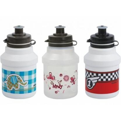 Picture of POLISPORT Kids + bottle cage / Rozā / 350ml