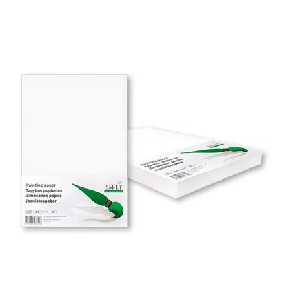Picture of SMILTAINIS Papīrs rasēšanai SMLT A4 formāts, 190 g/m2, 100 loksnes