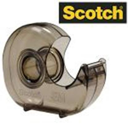 Изображение *Līmlentes turētājs 3M Scotch H-127 dūmkaini caurspīdīgs