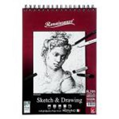 Picture of Albums Sketch&Drawing R701, A4/60 lap., 90g/m2 Renaissance