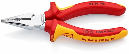 Attēls no KNIPEX Needle-Nose Combination Pliers 145mm VDE,