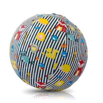 Picture of Akcija! Bubabloon lateksa balons ar auduma pārvalku, Animal Stripes Blue