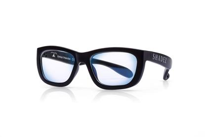 Attēls no Akcija! SHADEZ Blue Light Black Teeny bērnu brilles digitālajām ierīcēm, 3-7 gadi