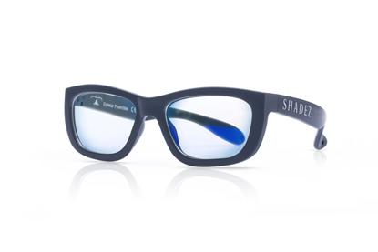 Attēls no Akcija! SHADEZ Blue Light Grey Teeny bērnu brilles digitālajām ierīcēm, 3-7 gadi