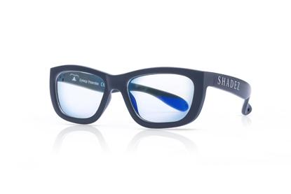 Attēls no Akcija! SHADEZ Blue Light Grey Teeny bērnu brilles digitālajām ierīcēm, 7-16 gadi