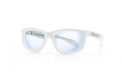 Attēls no Akcija! SHADEZ Blue Light White Teeny bērnu brilles digitālajām ierīcēm, 3-7 gadi