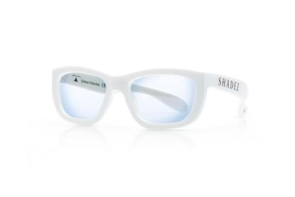Attēls no Akcija! SHADEZ Blue Light White Teeny bērnu brilles digitālajām ierīcēm, 7-16 gadi