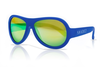 Picture of Akcija! SHADEZ Classic Blue Junior bērnu saulesbrilles, 3-7 gadi