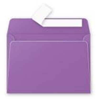 Attēls no Aploksne C6 114x162mm violeta krāsa