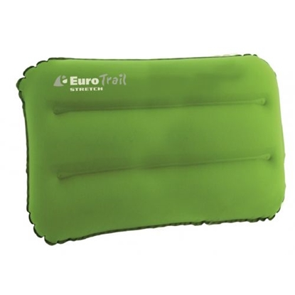 Изображение EUROTRAIL Stretch Pillow XL / Zaļa / Pelēka