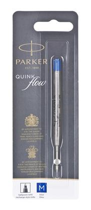 Изображение Parker Quinkflow Refill M blue Ballpoint Pen (Blister)