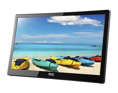 """Attēls no AOC Style-line I1659FWUX computer monitor 39.6 cm (15.6"""") 1920 x 1080 pixels Full HD LCD Flat Matt Black"""