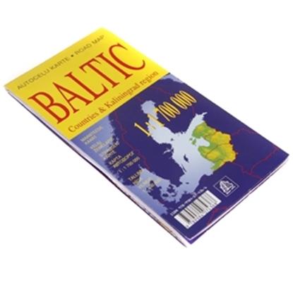 Изображение Karte Baltijas valstis 1:1 700 000