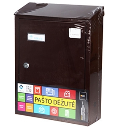 Attēls no Pastkaste brūna PD900