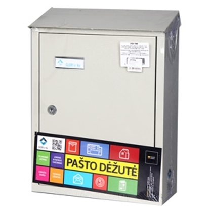 Attēls no Pastkaste pelēka PD900