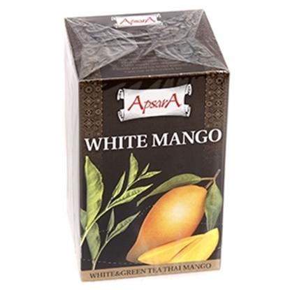 Изображение Tēja Apsara White Mango baltā un zaļā 30g