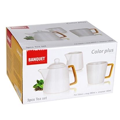 Attēls no Tējas servīze Banquet Color Plus dzeltena