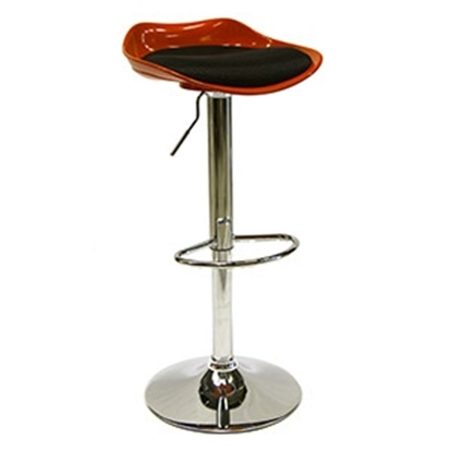 Attēls no Bāra krēsls PALMI melns/oranžs
