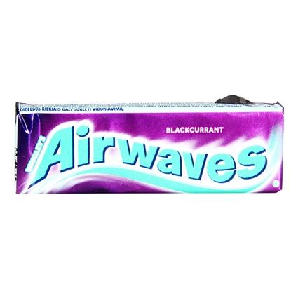 Attēls no Košļ.gumija Airwaves Blackcurrant Stickpack 10gab