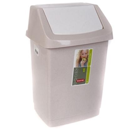 Attēls no Atkritumu tvertne Curver Click-it 15l bēša