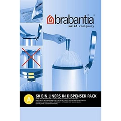 Attēls no Atkritumu maisi Brabantia 3l 60gab.