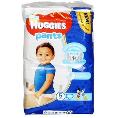 Attēls no Autiņbiksītes Huggies MP 5 Boy 17kg 44gb