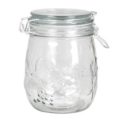 Изображение Bakalejas burka stikla ar vāku 0.75l