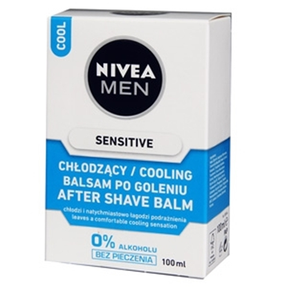 Attēls no Balzams pēc skūš.Nivea 2in1 Sensitive Cooling 100ml