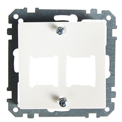 Picture of Centrplate 2xRJ45 LexCom