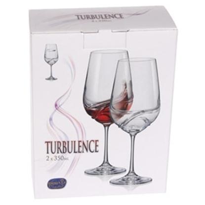 Attēls no Glāzes Turbulence vīna 350ml 2gab.