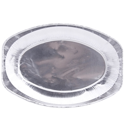 Изображение Alumīnija paplāte ovāla 33.3x23.3cm