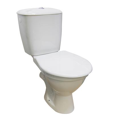 Изображение WC pods Norma ar vāku,horizontāls izv.,pievads no sāniem