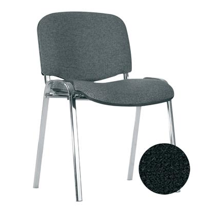 Изображение NOWY STYL Konferenču krēsls   ISO Chrome V-4 melnas ādas imitācija